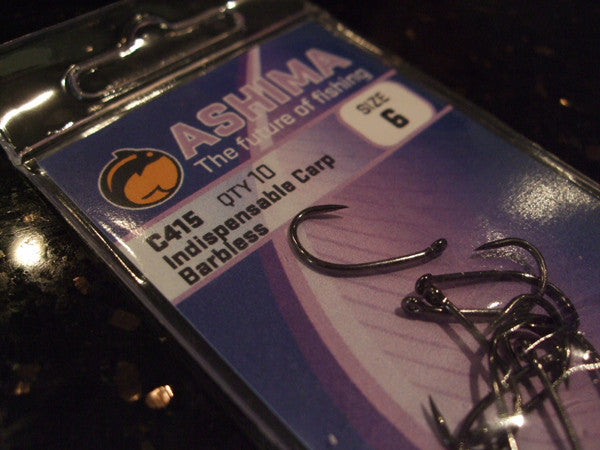 C415 'Indispensible Barbless' - Ashima Fishing Tackle UK