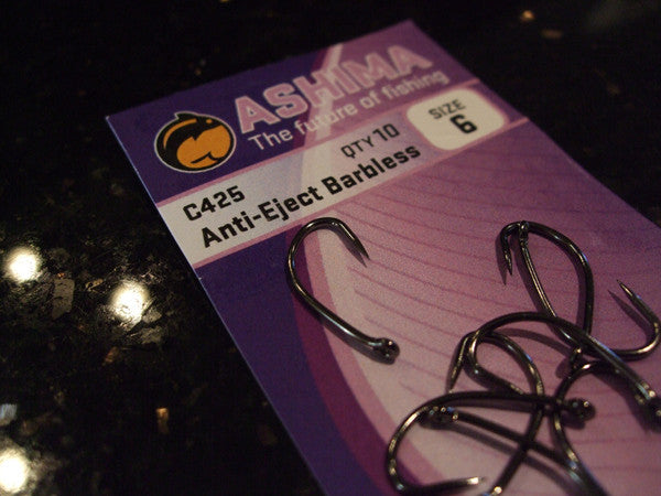 C425 'Anti-Eject Barbless' - Ashima Fishing Tackle UK