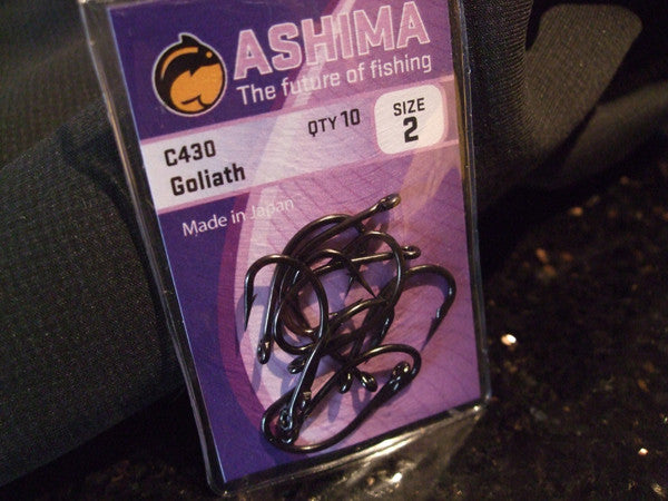 C430 Goliath Hooks - Ashima Fishing Tackle UK