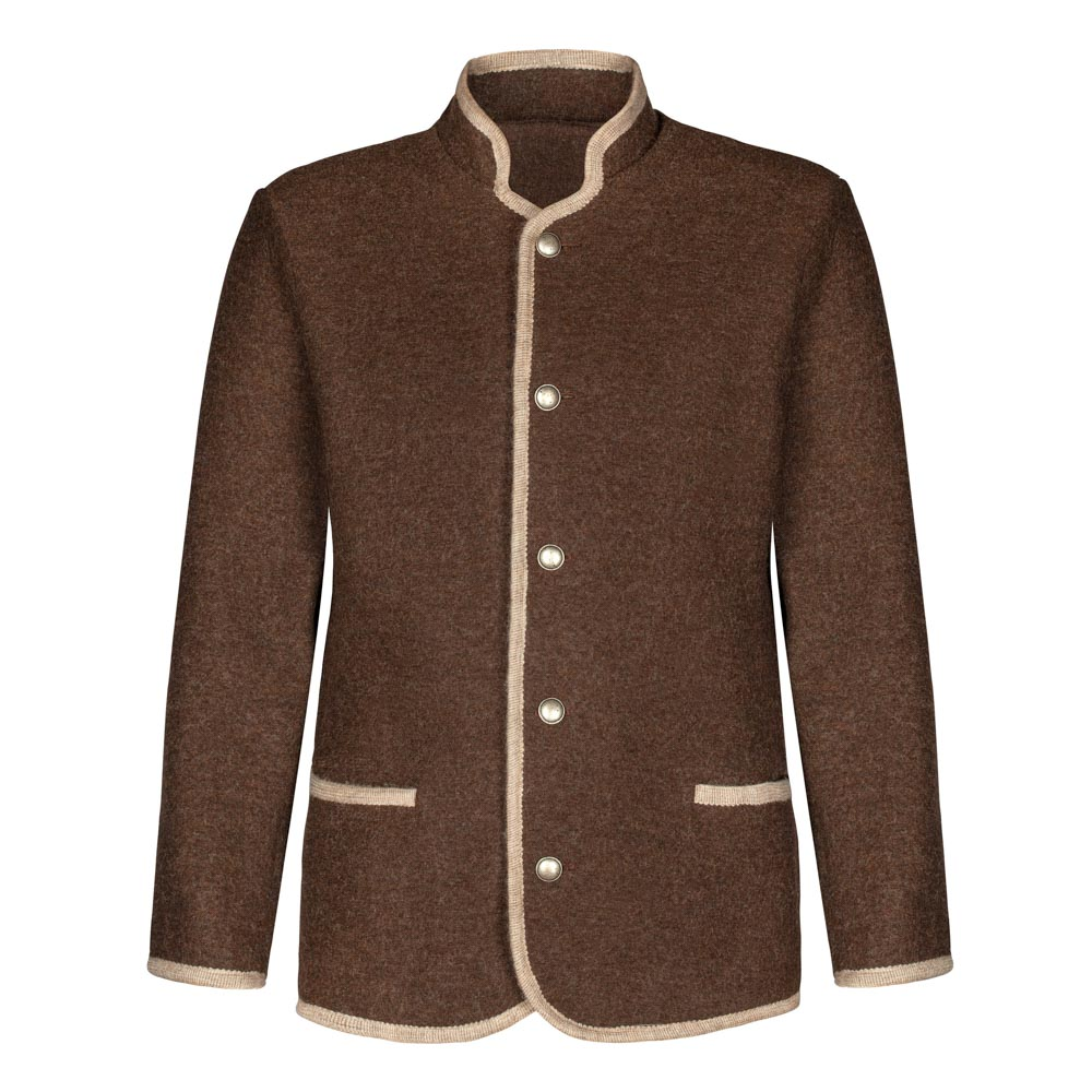 mens button up german wool jacket