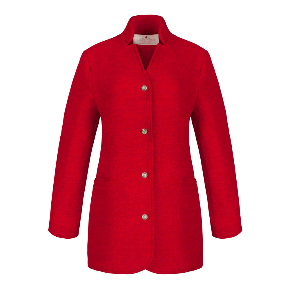 womens trachten boiled wool jacket