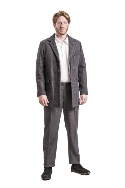 Mandling - Men's Merino Loden Wool Double Coat