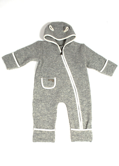 Baby - Toddler One Piece Wool Jumpsuit