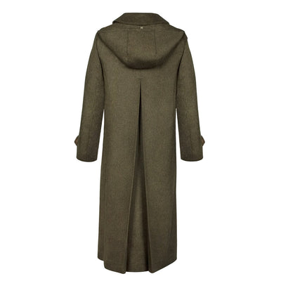 Silvia Women's Loden Coat with removable lining