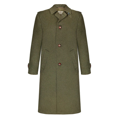Tirol - Traditional Austrian Hunting Loden Wool Overcoat
