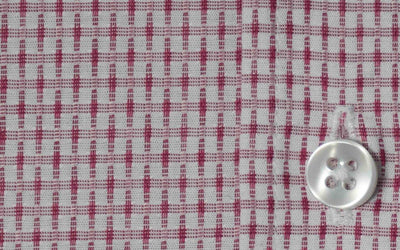 close up of a button on a Robert W. Stolz Austrian Dress Shirt