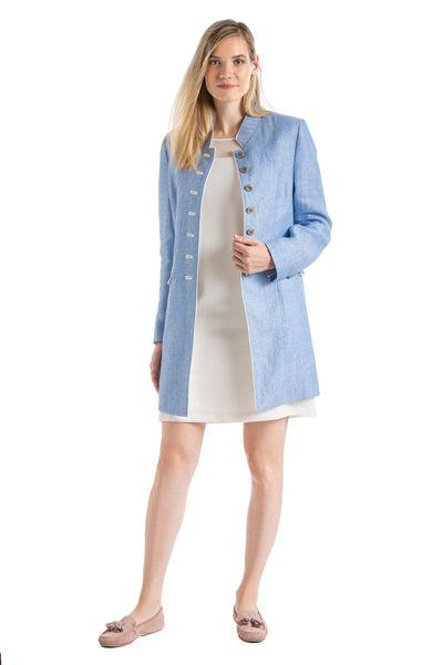 Nora - Women's Summer Alpine Linen Jacket