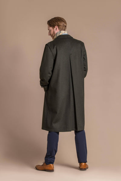 man wearing loden wool coat from Austria