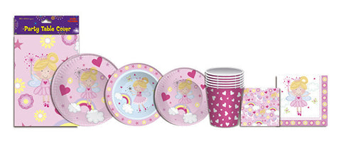 Pink Fairy Partyware