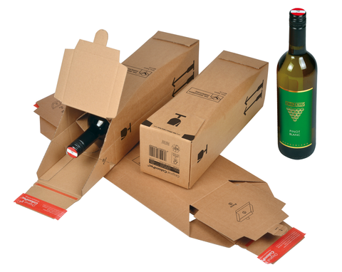 CP 181.101 - ColomPac DHL Certified Bottle Box 0.75L (Bordeaux type)