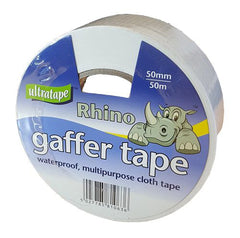 Tape - Rhino Ultratape - Gaffer Tape 50mm X 50M - White