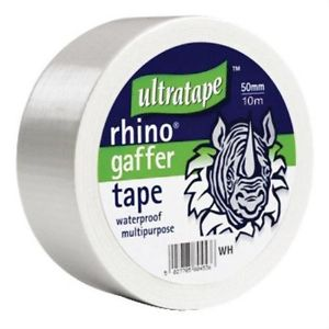 Rhino Ultratape - Gaffer Tape 50mm x 10M white