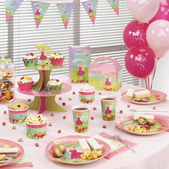 Princess fairy party paper cups