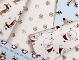 bio glitter sparkly Christmas wrapping paper