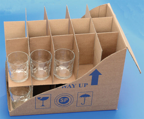 Mug & glass storage box