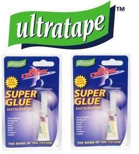 Adhesive - Ultratape Super Glue Tube - Blister Pack - 2g