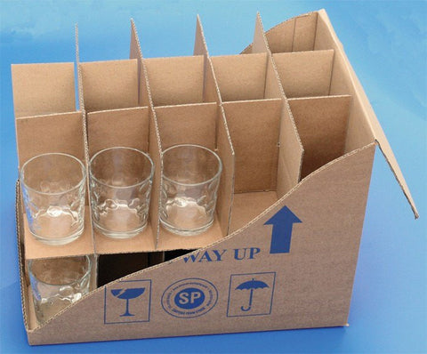 Bottle And Glass Packs - Box - Glass/Mug Inserts & Dividers - 30 Cells