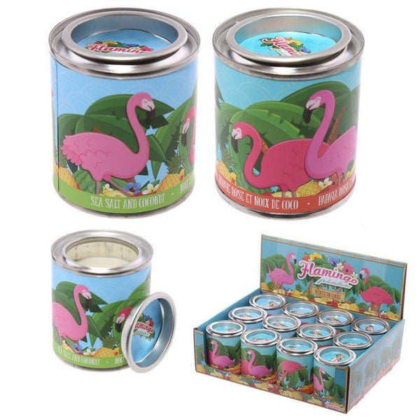 Eden Tropical Candle Tin - Sea Salt/Coconut & Papaya/Coconut