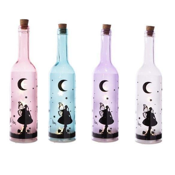 Magical Coloured Fairy Dream Decorative Bottle with LED light string 0.6W
