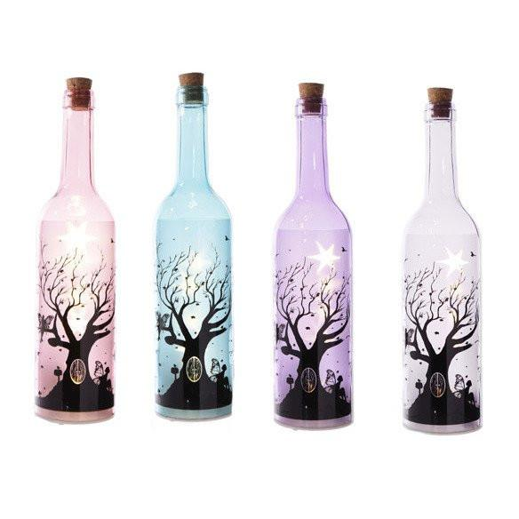 Magical Coloured Fairy Tree Decorative Bottle with LED light string 0.6W