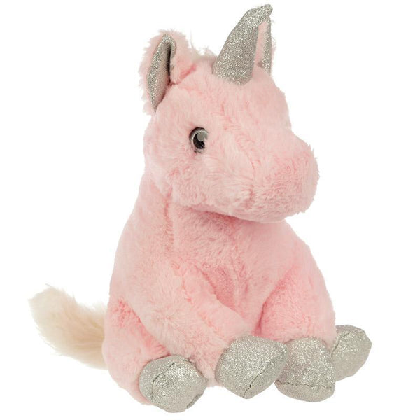 Cute Pink Plush Unicorn Shaped Door Stop