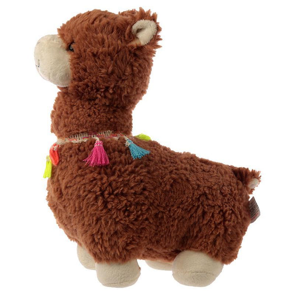 Llama Shaped Door Stop - Brown
