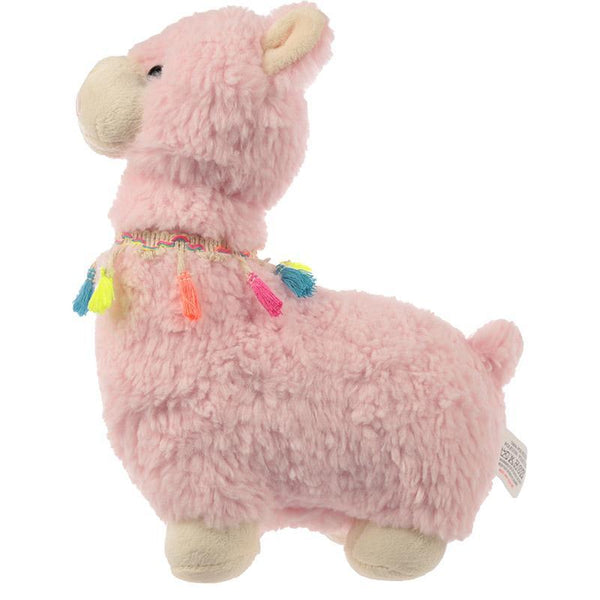Llama Shaped Door Stop - Pink