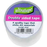 Ultratape Double Sided Carpet Tape Wide Adhesive Stick All Material 50mm x 4.5m