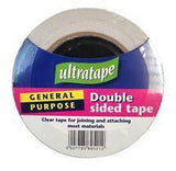 Ultratape Double Sided Clear Tape acid free 50mm x 33M