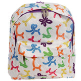 Balloon Animals Fun Design Rucksack 31 x 27 x 10cm - Backpack