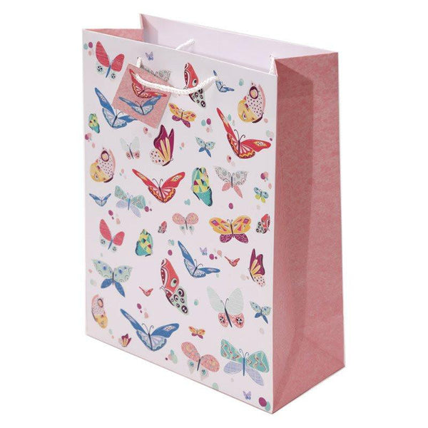Butterfly Design Gift Bag 26 x 12 x 33cm
