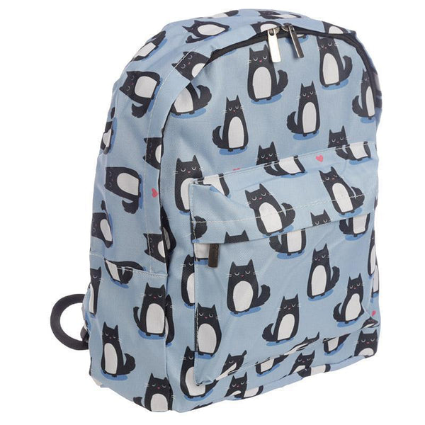 Cat Design Rucksack - Feline Fine Backpack