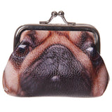 Cute Pug Design Photo Tic Tac Purse
