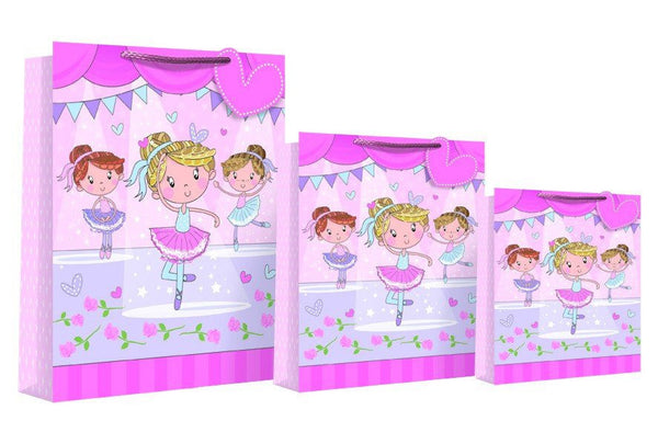 Happy Birthday Design Gift Bag 46 x 10 x 33cm - Ballerina XL