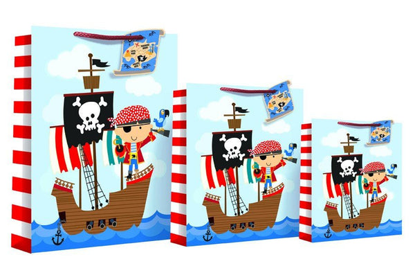 Happy Birthday Design Gift Bag 46 x 10 x 33cm - Pirate XL