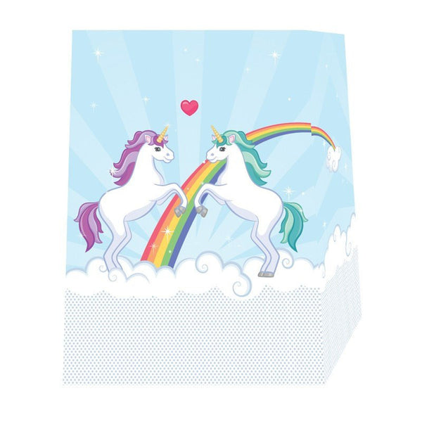 Unicorn Design Gift Bag 17 x 9 x 23cm