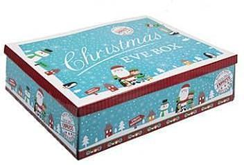 Special Delivery Christmas Eve Box 21 x 32 x 11cm - Blue