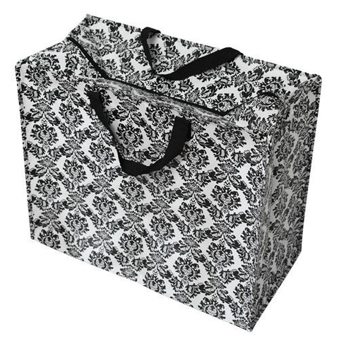 Laundry Bags - Baroque (Black) Jumbo Storage Bag