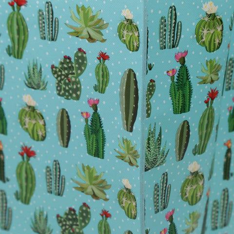 Laundry Bags - Cactus Design Laundry Storage Bag