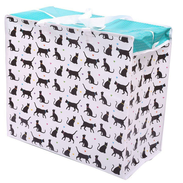 I Love My Cat Design Laundry Storage Bag