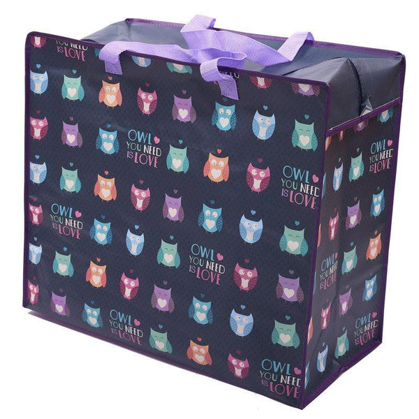 Owl You Need is Love Design Laundry Storage Bag