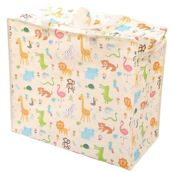 Zooniverse Design Laundry Storage Bag - Zoo Animal Design