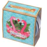 Lip Gloss Tin - Flamingo Design