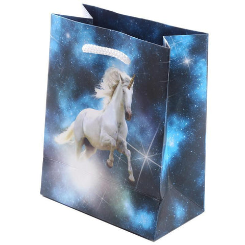 Pack Of 6 Gift Bags - Pack Of 6 - Cosmic Unicorn Design Party Gift Bags 14 X 6 X 11cm (Pk6)