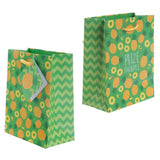 Pack of 6 - Funky Pineapple & Watermelon Party Gift Bags 14 x 6 x 11cm (Pk6)