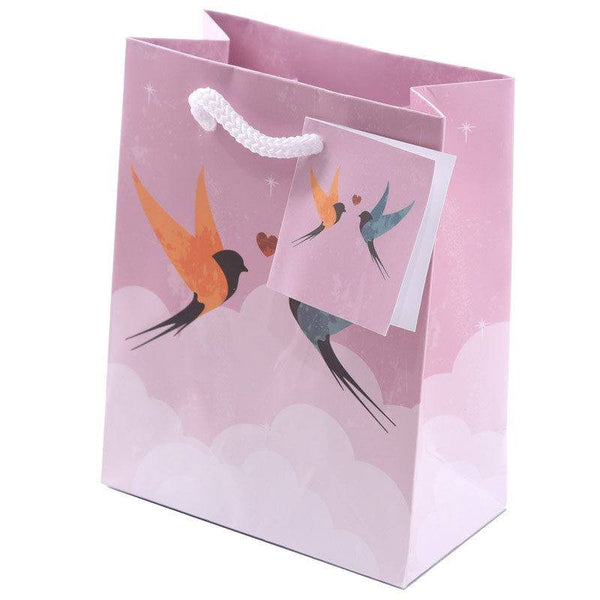 Swallows Party Gift Bags 14 x 6 x 11cm (Pk6)