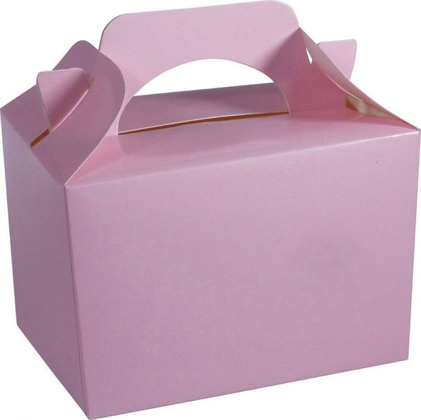 Pack of 10 Party Boxes - Baby Pink Food Box PK10