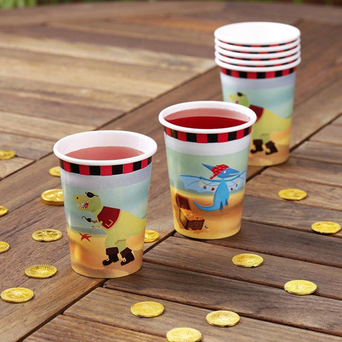Partyware - Dinosaur Island - Paper Cups PK8