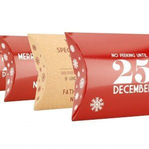 Pillow Boxes - Assorted Christmas Designs