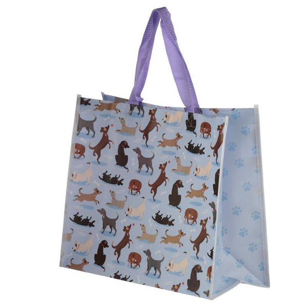 Dog Design Reusable Shopping Bag- Catch Patch!
